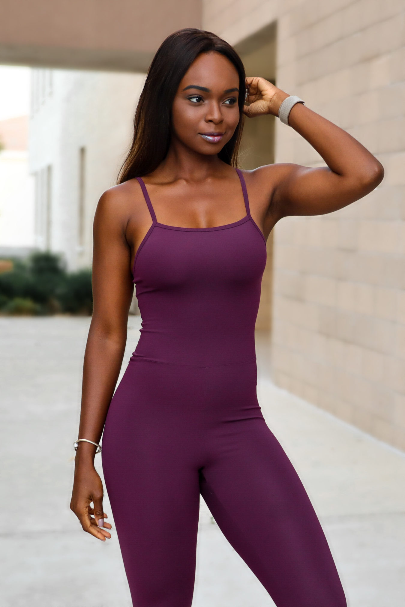 girlfriend collective activewear jumpsuit review