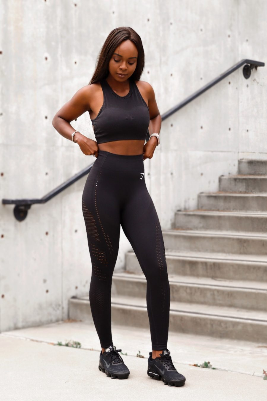 Gymshark flawless knit tights review