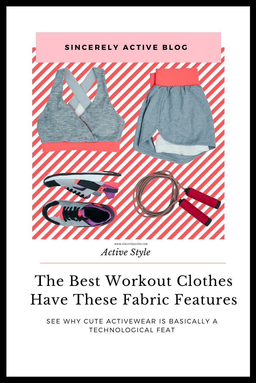 performance fabric features for workout clothes